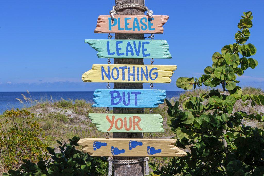 Todo viajero debería plantearse qué parte de él debería dejar en su destino